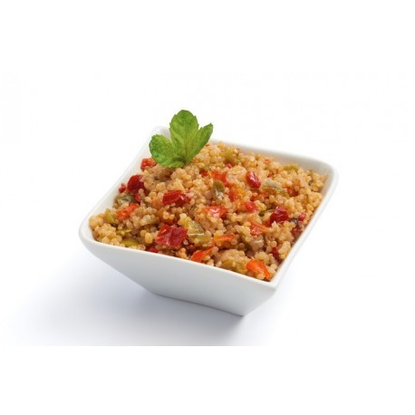 Taboulé de quinoa et petits légumes