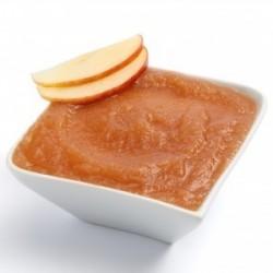 Caramelised apple purée