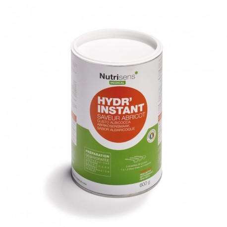 Sweetened instant thickened water