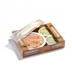 SALSA Allergen-free meal on tray