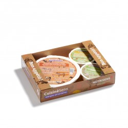 DISCO Allergen-free meal on tray