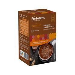 Boisson chaude chocolat Fortesens