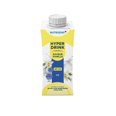 Hyperdrink, sweetened lactose-free drink