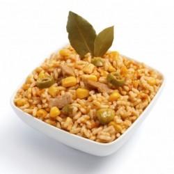 Turkey and rice salad