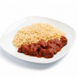 Veal with tomato