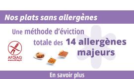 Éviction des 14 allergènes majeurs